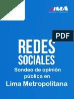 Sondeo de Opinión - Redes Sociales