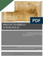 Documentación+Interlineal