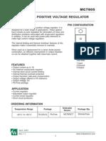 7805-regulator-datasheet pdf | Electrical Engineering