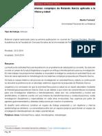 La Metodología de Los Sistemas Complejos de Rolando García Aplicadas a La Investigación en Actividad Física y Salud, 2014