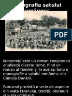 Monografia satului romanesc