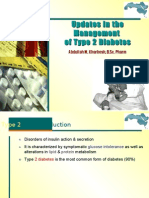 Updates in the Management of Diabetes Type 2