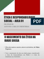 Aula 02 - Ética e Responsabilidade Social - Introdução