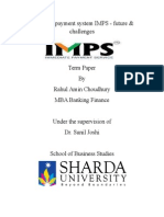 Term Paper- IMPS