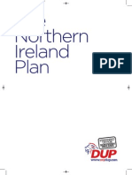 The DUP's Northern Ireland Plan