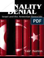 Yair Auron -The Banality of Denial. Israel and the Armenian Genocide