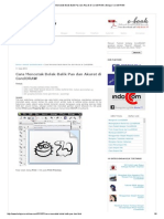 Cara Mencetak Bolak-Balik Pas Dan Akurat Di CorelDRAW _ Belajar CorelDRAW