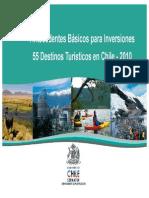 Antecedentes Generales para Inversiones Destinos Turísticos 2010