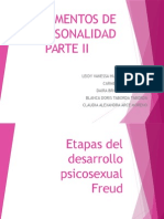 FUNDAMENTOS DE LA PERSONALIDAD. PATE II