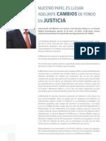 Discurso Cuenta Publica Ministro de Justicia J.A. Gomez