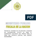 Memoria Descriptiva M.T. Sede Del Distrito Judicial de Moyobamba