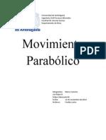 Informe Movimiento Parabolico