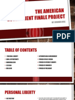 the american  government finale project