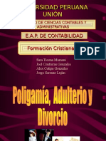 Divorcio, Adulterio y Poligamia