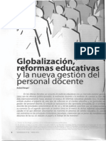 Globalizacion y TRABAJO DOCENTE