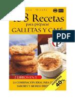 168 Recetas Para Preparar Galletas y Cafe