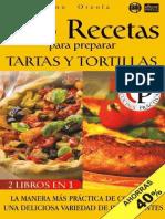 168 Recetas Para Preparar Tartas y Tortillas Espanolas
