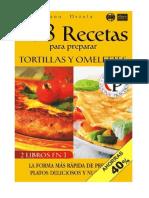 168 Recetas Para Preparar Tortillas Espanolas y Omelettes