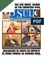 324a0eb881 Capa do jornal O Sul - 28 08 2007