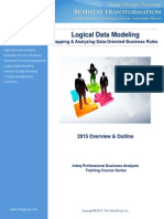 Logical Data Modeling Training Course Overview