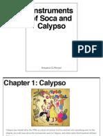 instruments of soca and calypso