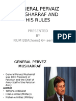 General Pervaiz Musharraf