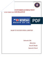 Achieving Customer Satisfaction and Service Excellence (PDF Report)
