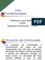 ecuaciones Fundamentales