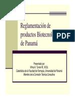 Regulacion de Medicamentos Biotecnologicos