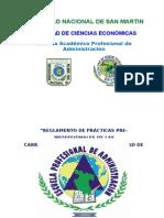 Reglamento de Practicas Pre Profesionales.ciencias Economicas. FCE UNSM2 Final