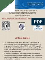 Mapa Nacional de Humedales UNAM