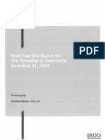 Draft Year-End Report Including Draft Audit Report for 2014