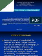 Presentacion Pensamiento Pedagogico-LATINOAMERICANO@
