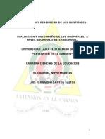 Evaluacion y Desarrollo de Los Hospitales