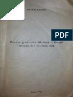 Milorad Ekmecic - Osnove Gradjanske Diktature u Evropi Izmedju Dva Svjetska Rata