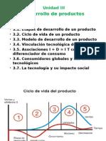 Unidad III Desarrollo de Nuevos Productos
