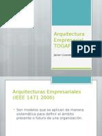 Arquitectura Empresarial TOGAF