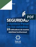 SEGURIDAD Y JUSTICIA PENAL EN LOS ESTADOS