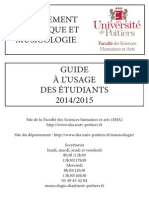Guide Musicologie Licence 2014 2015