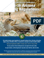 2015-16 Arizona Hunting Regulations