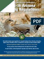 2015-16 Arizona Hunting Regulations