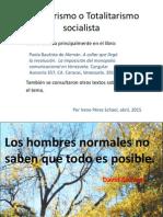 Charla Totalitarismo Presentación 2015
