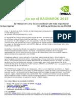 Nvidia Presente en El Ragnarok 2015-Final