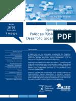 Diplomado Virtual Políticas Públicas para el Desarrollo Local y Regional ACEP KAS 2015