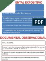 Clasificación documentales