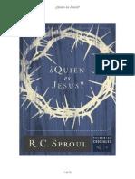¿Quien Es Jesus_ - R.C. Sproul