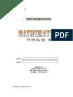 LATIHAN MATH TH6-UPSR KERTAS 2