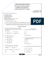 Nift MFM Mock Test (Gat) 1