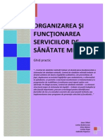 Ghid_organizarea Si Functionarea_Serviciilor Comunitare de Sanatate Mintala