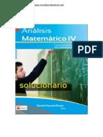 Solucionario Analisis Matematico IV - ESPINOZA